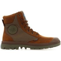 Palladium  Pampa Sport Cuff 73234-207  men's Shoes (High-top Trainers) in Brown