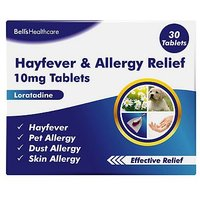 Bells Hayfever and Allergy Relief 10mg 30 Tablets