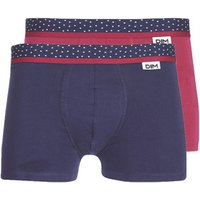 DIM  MIX AND DOTS X3  men's Boxer shorts in Blue