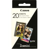 CANON ZINK 2 x 3 Glossy Photo Paper - 20 Sheets