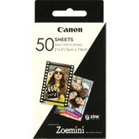 CANON ZINK 2 x 3 Glossy Photo Paper - 50 Sheets