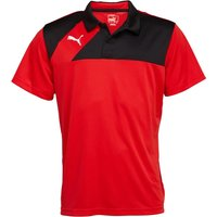 Puma Mens Esquadra Leisure Polo Red/Black