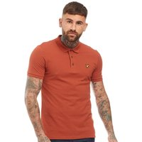 Lyle And Scott Vintage Mens Polo Brown Spice