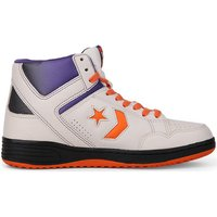 Converse  Weapon 86 Hi White/Orange  men's Shoes (High-top Trainers) in Multicolour