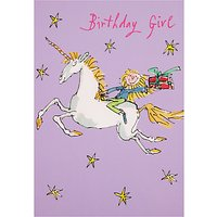 Woodmansterne Magical Flight Birthday Card