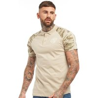Crosshatch Mens Lookers Polo Light Taupe