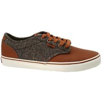 Vans  Atwood Deluxe  men's Skate Shoes (Trainers) in Brown