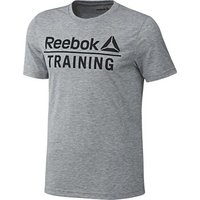 Reebok Sport  TR Speedwick Tee  men's T shirt in Grey