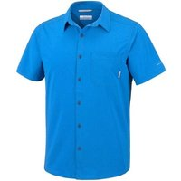 Columbia  Triple Canyon  men's Short sleeved Shirt in Blue