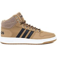 adidas  Hoops 20 Mid  men's Shoes (High-top Trainers) in Brown