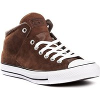 Converse  Chuck Taylor All Star High Street Suede Thermal  men's Shoes (High-top Trainers) in Brown
