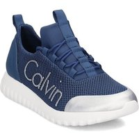 Calvin Klein Jeans  S0506  men's Shoes (Trainers) in Blue