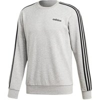 adidas  Essentials 3STRIPES  men's Sweatshirt in Grey