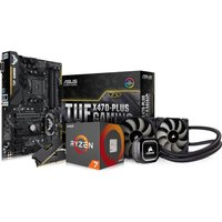 PC SPECIALIST AMD Ryzen 7 Processor, TUF X470-PLUS GAMING Motherboard, 16 GB RAM & Corsair Cooler Co