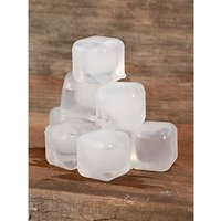 Kikkerland Reusable Ice Cubes, Set of 30, Clear