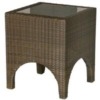 Barlow Tyrie Savannah Square 2-Seat Garden Side Table