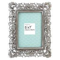 Grey Resin Photo Frame - 5x7