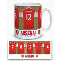 Arsenal Personalised Dressing Room Photo Mug