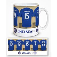 Chelsea Personalised Dressing Room Photo Mug