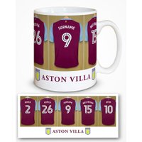 Aston Villa Personalised Dressing Room Photo Mug