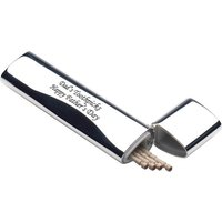 Personalised Engraved Nickel Plated Toothpick Holder