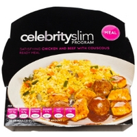 Celebrity Slim Ready Meals - Chicken and Beef Couscous