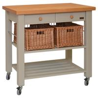 Eddingtons Lambourn 2 Drawer Butcher's Trolley