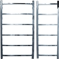 John Lewis & Partners Peel 900 Adjustable Electric Heated Towel Rail