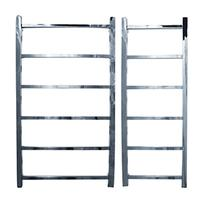 John Lewis & Partners Peel 900 Central Heated Towel Rail and Valves, from the Wall