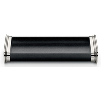 Graf von Faber-Castell Black Grained Leather Pen Tray