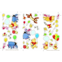 Graham & Brown Winnie the Pooh Small Wall Sticker, Brown