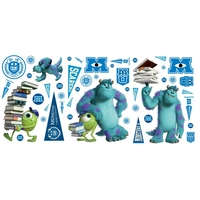Graham & Brown Monsters Value Stickers, Brown