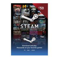 STEAM Steam Wallet Card - 50