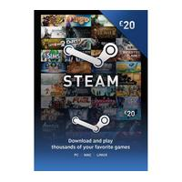 STEAM Steam Wallet Card - 20