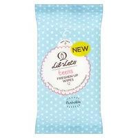 Lil-Lets teens Freshen-Up Re-sealable Wipes