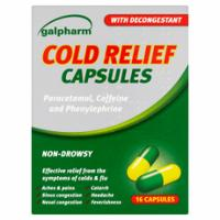 Galpharm Cold Relief Capsules x 16