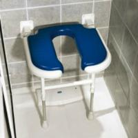Advanced Standard Horseshoe Shower Seat - Moulded Seat