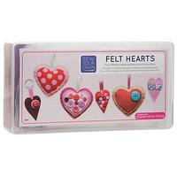 Paper and String Sew Your Own Felt Hearts Kit