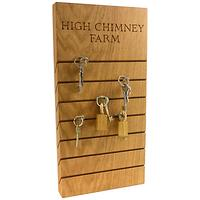 The Oak And Rope Company Personalised Key Organiser, Large