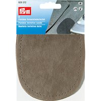 Prym Imitation Suede Patches, Stone