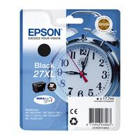 EPSON Alarm Clock 27XL Black Ink Cartridge, Black