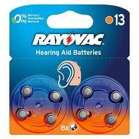 Rayovac Size 13 Hearing Aid Battery - 8 Batteries