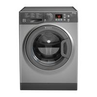 HOTPOINT WMFUG742G SMART Washing Machine - Graphite, Graphite