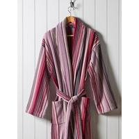 Christy Supreme capsulestripe robe xl robe berry