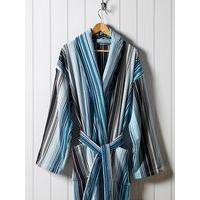 Christy Supreme capsule stripe robe xl robe aqua