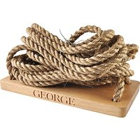 The Oak And Rope Company Personalised Swing, Large