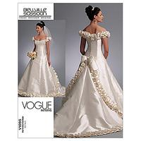 Vogue Beville Sassoon Women's Gown Sewing Pattern, 1095