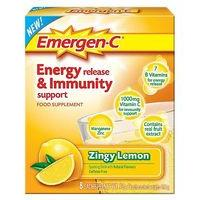 Emergen-C Zingy Lemon Sachets with sweeteners - 8 x 9.8 g