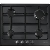 CANDY CPG64SPN Gas Hob - Black, Black