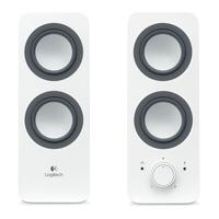 LOGITECH  Z200 2.0 PC Speakers - White, White